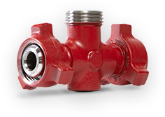High pressure flow control fittings
